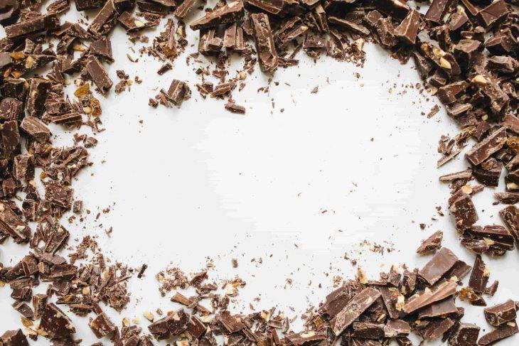 Een speciaal chocolaatje helpt om een zware dag door te komen